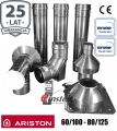 Komin do kotła ARISTON 80/125 z redukcją