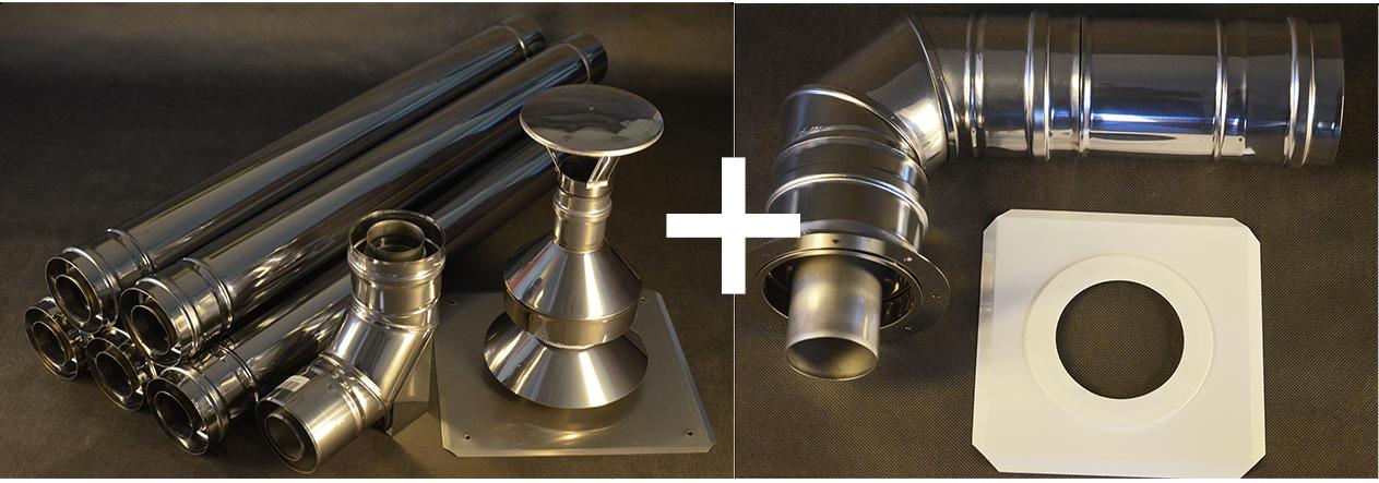 Jak połączyć komin dwuścienny z kotłem kondensacyjnym